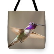 Humming Bird Freeze Frame Tote Bag