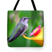 Hummingbird 32 Tote Bag
