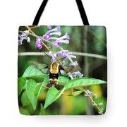 Hummingbird Bee Tote Bag