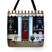 Hummingbird Cakery And Cafe Tote Bag by Catherine Holman