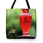 Hummingbird Feeder Tote Bag