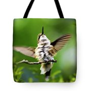 Hummingbird Happy Dance Tote Bag