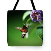Hummingbird Hawk Moth - Five Tote Bag