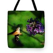 Hummingbird Hawk Moth 2 Tote Bag