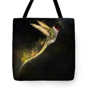 Hummingbird Hotty Totty Style Tote Bag
