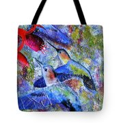 Hummingbird Joy Tote Bag