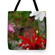 Hummingbird Mid Flight Tote Bag