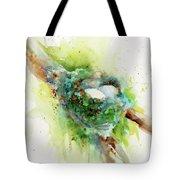 Hummingbird Nest Tote Bag