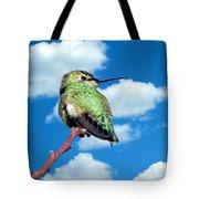 Hummingbird On High Tote Bag