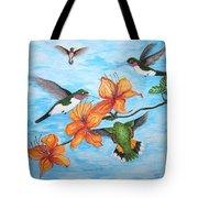 Hummingbirds Tote Bag