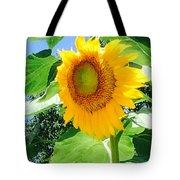 Humongous Sunflower Tote Bag