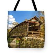 Humpback Covered Bridge In Autumn Colors Tote Bag