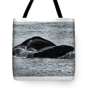 Humpback Fishing Tote Bag