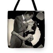 Humphrey Bogart Ava Gardner The Barefoot Contessa Collage 1954-2016 Tote Bag