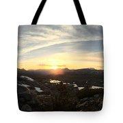 Humphreys Basin Sunset Tote Bag