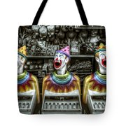 Hungry Clowns Tote Bag
