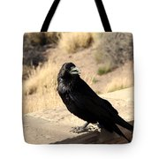 Hungry Crow Tote Bag