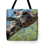Hungry Giraffe Tote Bag