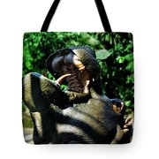 Hungry Hippo Tote Bag