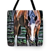 Hungry Horse 1 Tote Bag