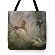 Hungry Hummers Tote Bag