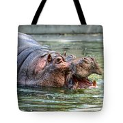 Hungry Hungry Hippo Tote Bag