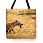 Hungry Hyena Tote Bag
