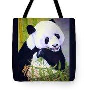 Hungry Panda Tote Bag