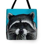 Hungry Raccoon Tote Bag