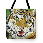 Hungry Tiger Tote Bag