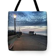 Hunstanton At 5pm Today  #sea #beach Tote Bag by John Edwards