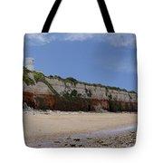 Hunstanton Cliffs Tote Bag
