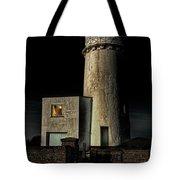 Hunstanton Lighthouse At Night Tote Bag