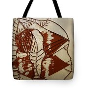 Hunter - Tile Tote Bag