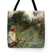 Hunter And Mallards Tote Bag