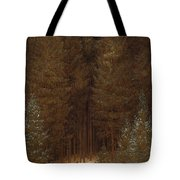 Hunter In The Forest  Tote Bag