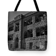 Hunter Kansas High School Tote Bag