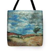 Hunter Lake Hillside Tote Bag