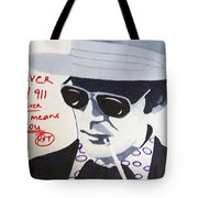 Hunter S Thompson Tote Bag