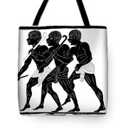 Hunters  Tote Bag by Michal Boubin