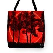 Hunters Moon Tote Bag