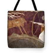 Hunting, 12th Century Tote Bag