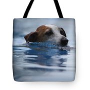 Hunting Dog Tote Bag