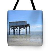 Hunting Island Beach House Tote Bag