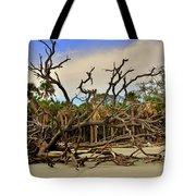 Hunting Island Driftwood Beach Beaufort Sc Tote Bag
