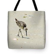 Hunting Plover Tote Bag