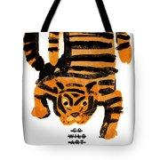 Hunting Tiger Tote Bag