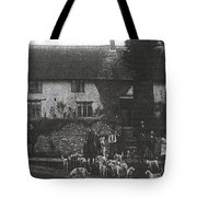 Hunting With Hounds Tote Bag
