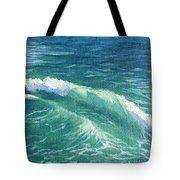 Huntington Small Waves  Tote Bag