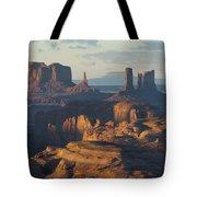 Hunt's Mesa View 7602 Tote Bag